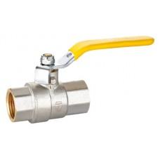 """Кран шаровой HLV-Gas ( ручка-рычаг) внут-внут резьба 1"""" ( HLV-104271.N.03 )"""