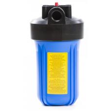 """10"""" Корпус фильтра типа """"Big Blue"""", подключение 1"""", синий стакан, воздушный клапан, 2 уплотнительных кольца, максимальное рабочее давление 8 bar."""