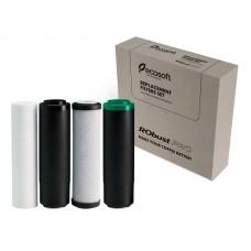 Ecosoft CHVROBUSTPRO Комплект картриджей для систем RObust PRO (ПП5,уголь гранула,уголь брикет,mix)