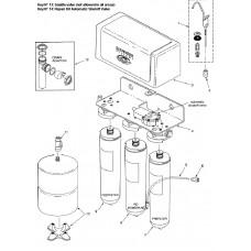 Ecowater Adaptor 1/4