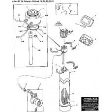 Ecowater Adaptor ASM AIIF9 Filter(replaces 7220384) ( 7251880 )