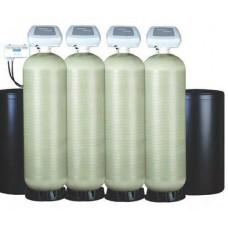 Умягчитель Ecowater 5130 Quadplex 17х58 Qmax=22,8м³/час; Vфм=113л