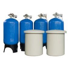 Умягчитель Ecowater 5102 Quadplex 17х58 Qmax=36м³/час; Vфм=85л