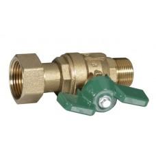 Запорный шаровий клапан, к фильтрам, 1