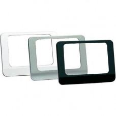 дополнительные лицевые панели для Evotouch (3 шт., полированный металл, блестящий глубокий черный и белый глянцевый)