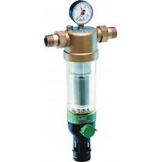 Honeywell F76S-1/2AA фильтр 100мкм с механизмом обратной промывки Tmax=40