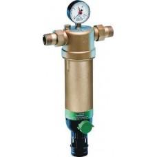 Honeywell F76S-1/2AAM фильтр 100мкм с механизмом обратной промывки Tmax=70