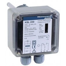 Электронное реле протока для воздуха, компактное исполнение. 0.1…30.0 м/с, Релейный выход (SPDT), 24В, 10(2)А, -10…+85 °С, IP65, длинна погужной части 130 мм