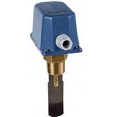 Механическое реле протока для жидкости 0.6…165 м3/ч, Релейный выход (SPDT), 250В, 15(8)А, темп. среды 120 °С, IP65, max рабочее давление 30 бар, резьбовое соединение 1