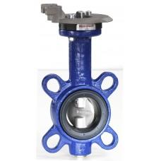 Поворотный клапан типа батерфляй, PN16, межфланцевое соединение, DN100, Kvs 745 м3/ч, -10…120 °C, max перепад давления 800 кПа