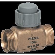 2-х ходовий клапан, PN16, 2…120 °C, внешняя резьба, коническое уплотнение, DN15 G1/2