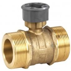 2-х ходовий шаровий регулирующий клапан, PN25, 5…120 °C, внешняя резьба, плоское уплотнение, DN25 G1 1/2