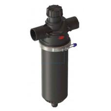 """Aytok PD2 фильтр дисковый 2"""" короткий гидроциклон ручной пластиковый 35 м³/час (20-50-100-125-200 мкм)"""