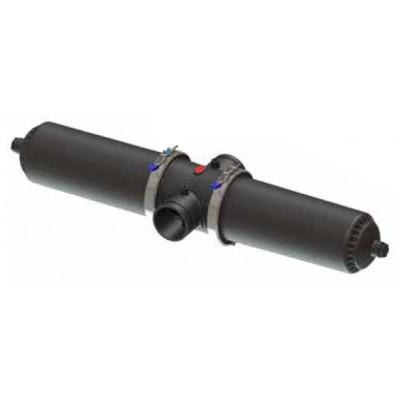 """Aytok DDS4 фильтр дисковый 4"""" длинный гидроциклон ручной пластиковый 80 м³/час (20-50-100-125-200 мкм)"""