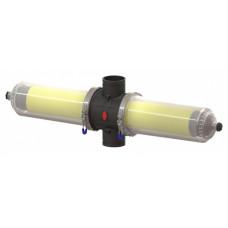 """Aytok DDSC3 автоматический фильтр дисковый 3"""" гидроциклон пластиковый двойной 50 м³/час (20-50-100-125-200 мкм)"""