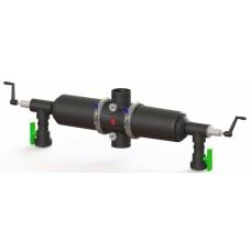 """Aytok DV30 фильтр сетчатый 3"""" полуавтомат двойной гидроциклон пластиковый 55 м³/час (20-50-100-125 мкм)"""