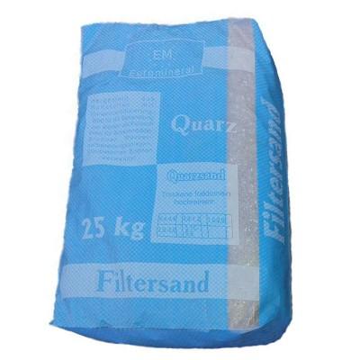 Кварцевый песок 0,4-0,8мм (25 кг)
