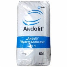 Lhoist Akdolit Гидроантрацит N1 0,6 - 1,6 мм Фильтрующая загрузка (50 л)