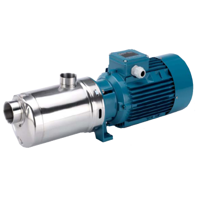 Calpeda MXHLM 805/A (код: 63312051000) моноблочный горизонтальный многоступенчатый насос нерж. AISI 316 1,8КВт, 1 фаза