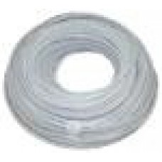 """AquaFilter Белый эластичный полиэтиленовый шланг 1/4"""", длина бухты 300 мп. Применяется для соединений в системах очистки воды."""