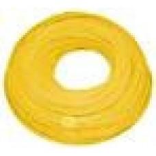"""AquaFilter Желтый эластичный полиэтиленовый шланг 1/4"""", длина бухты 300 мп. Применяется для соединений в системах очистки воды."""