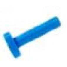 """AquaFilter Заглушка 1/4"""" - белый цвет."""