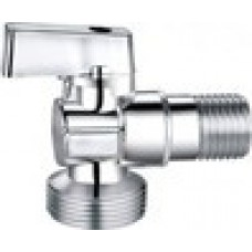 "Calpeda Sanitary Brass Ball Valve Angle MxM HLV/ Кран шаровой HLV для подключения сантехнических приборов наруж-наруж резьба 1/2"" x 1/2"""