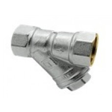 """HLV Brass Filter Valve HLV (nickel plated)/ Фильтр механической очистки воды HLV (никелированный) 1/2"""""""