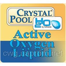 Crystal Pool Средство для дезинфекции Жидкий активный кислород Crystal Pool Active Oxygen Liquid 30 кг Харьков